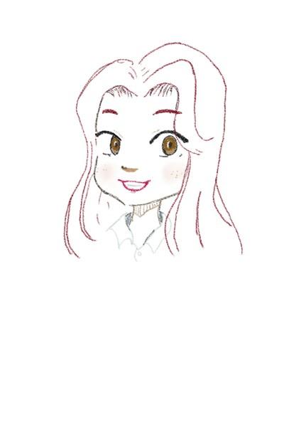 여자 | Jiyun | Digital Drawing | PENUP
