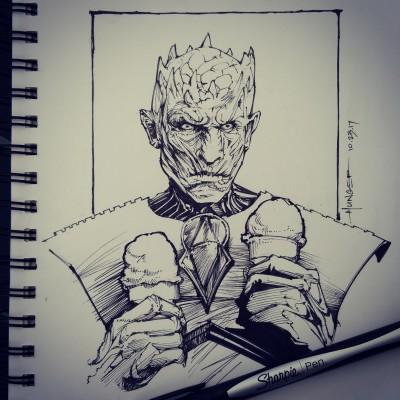 Game of Cones | Hunger_art | Digital Drawing | PENUP
