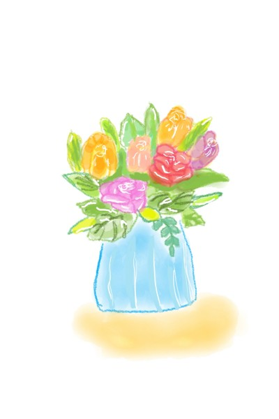 flower boquet for my friends   Anevans2   Digital Drawing   PENUP