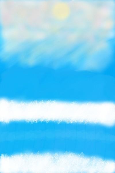 Ocean | Mokoshla | Digital Drawing | PENUP
