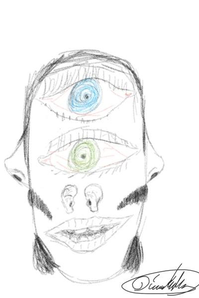 LTNS  | Hipstachio | Digital Drawing | PENUP