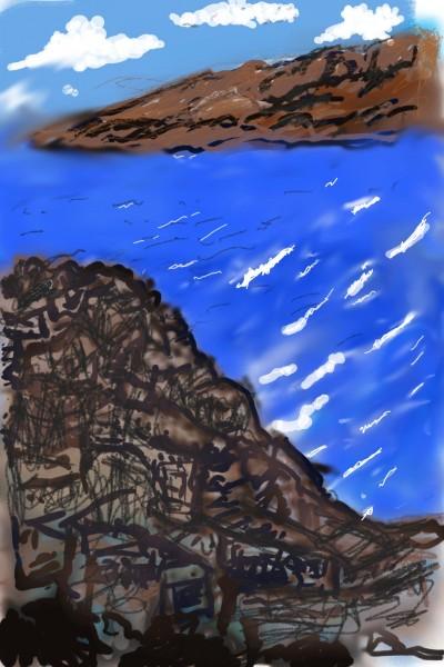 Scottish loch | Bludo | Digital Drawing | PENUP
