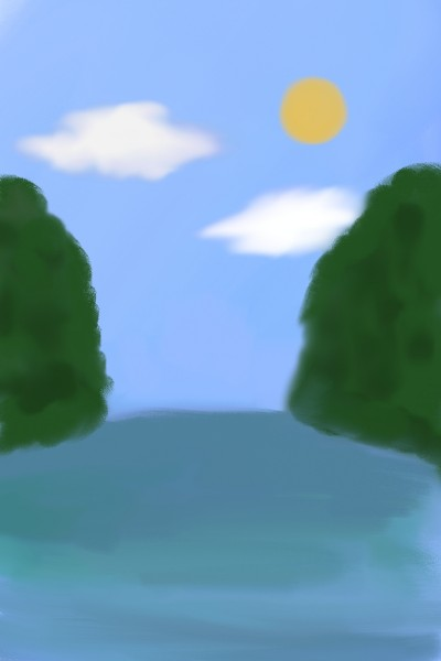 Landscape Digital Drawing | sng_jlio88 | PENUP