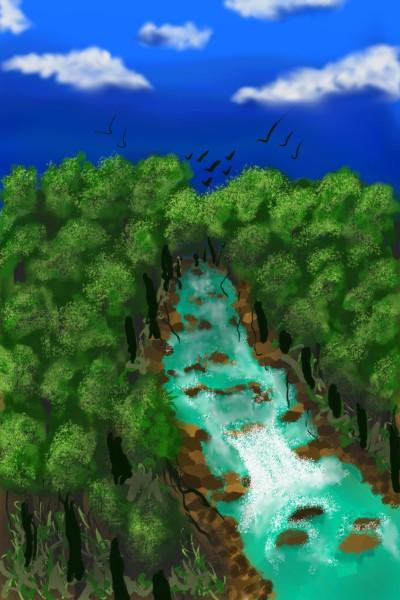 River | Teena | Digital Drawing | PENUP