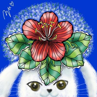 SAMURAI Blue | azu | Digital Drawing | PENUP