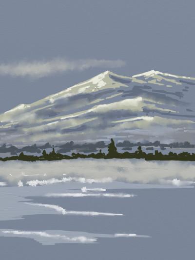 Gore Mountain | AntoineKhanji | Digital Drawing | PENUP