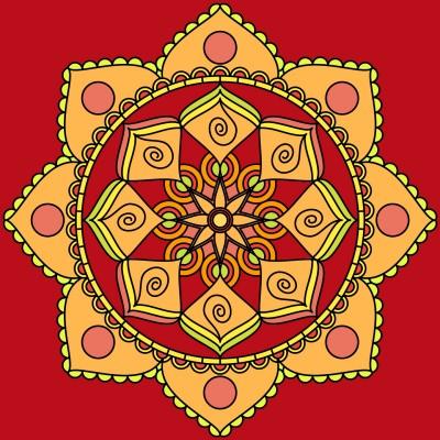 Mandala | Tessie | Digital Drawing | PENUP