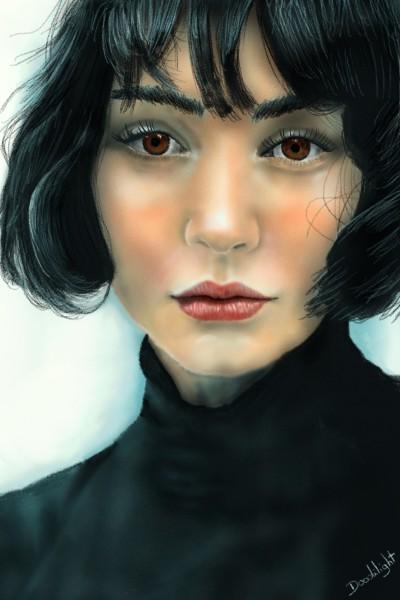 portrait | Doodilight | Digital Drawing | PENUP
