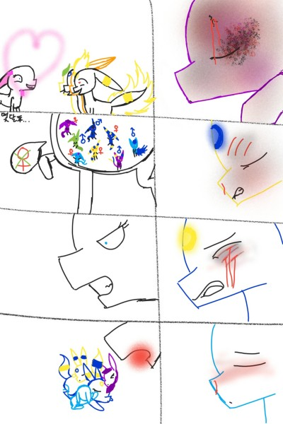 포켓몬만화19 | Kina | Digital Drawing | PENUP
