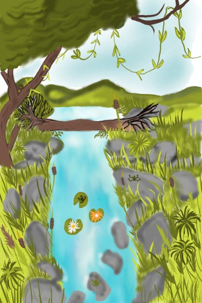 river challenge | Andrea | Digital Drawing | PENUP