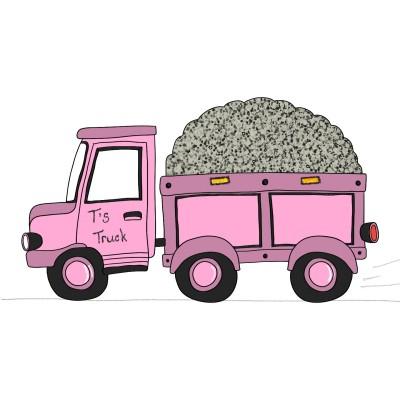 """T's"" Pink Truck | Trish | Digital Drawing | PENUP"