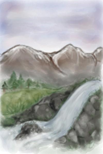 Landscape Digital Drawing   KellyM   PENUP