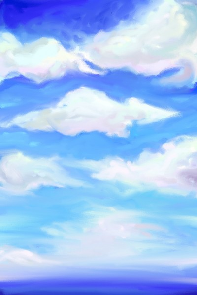 blue blue | heihei | Digital Drawing | PENUP