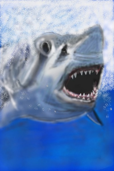 shark attack  | Elizabeth | Digital Drawing | PENUP