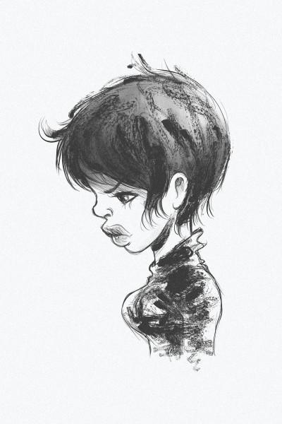 Rough doodle  | AL1ISBETTER | Digital Drawing | PENUP