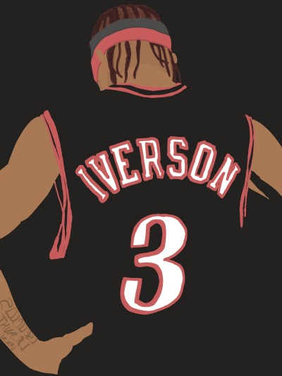 Allen The Answer Iverson | UpJ | Digital Drawing | PENUP