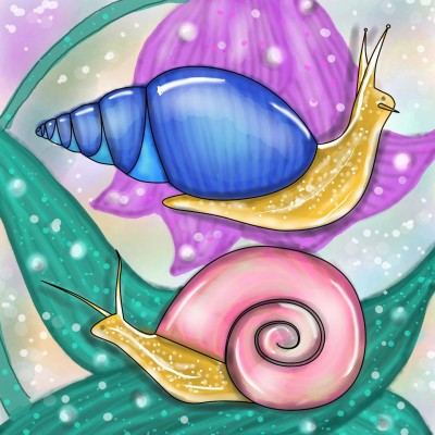 life is good when you are close to nature!!   Sylvia   Digital Drawing   PENUP