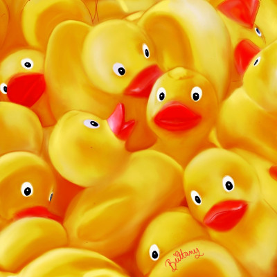 Rubber ducky, you're the one.  | badb | Digital Drawing | PENUP