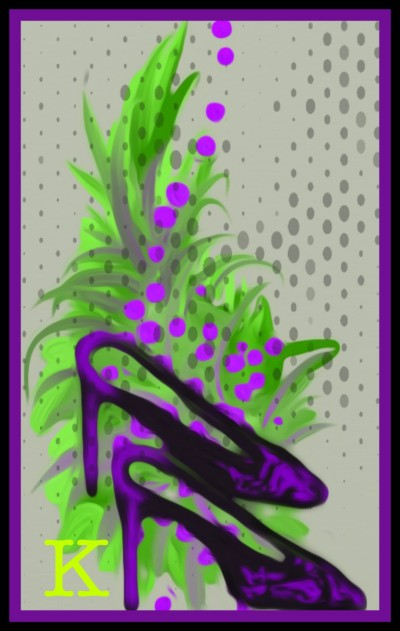 Abstract Shoes . By K | katherineeroach | Digital Drawing | PENUP
