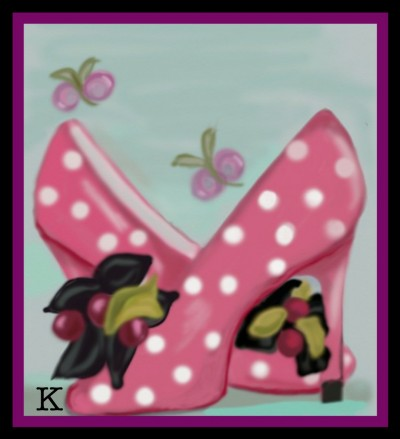 Spotted Shoes by K. #Reference Used.  | katherineeroach | Digital Drawing | PENUP