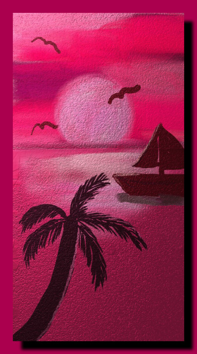 Pink Seas | Charldia | Digital Drawing | PENUP
