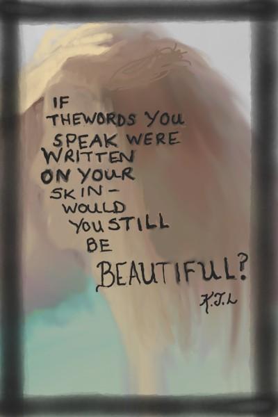 Beautiful? | _Katlyn_L | Digital Drawing | PENUP
