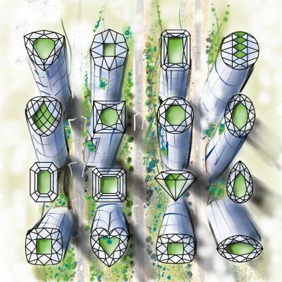 ☆ DIAMOND BUILDING ☆   z3dmax   Digital Drawing   PENUP