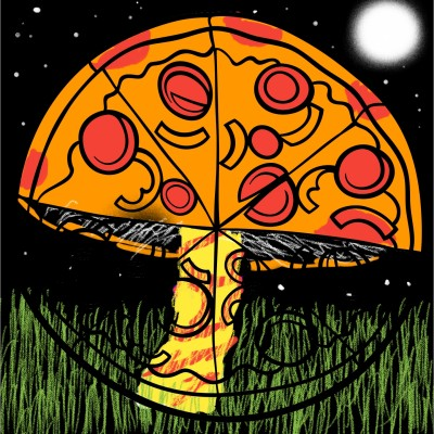 Mushroom  | ChrisPBacon | Digital Drawing | PENUP