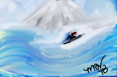 Greatest snow on earth | mich | Digital Drawing | PENUP
