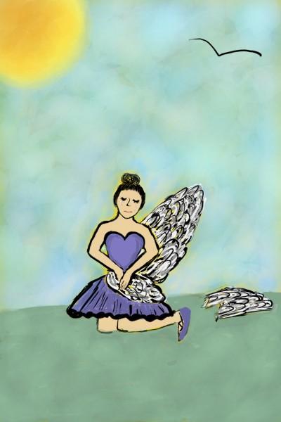 on a sunny day.  . . | kaya | Digital Drawing | PENUP
