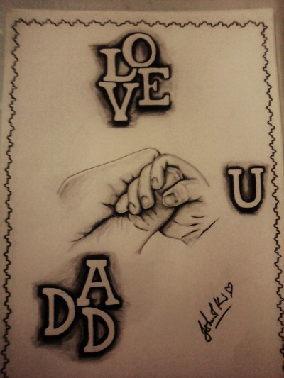 love u dad | Ishrah_khan.T | Digital Drawing | PENUP