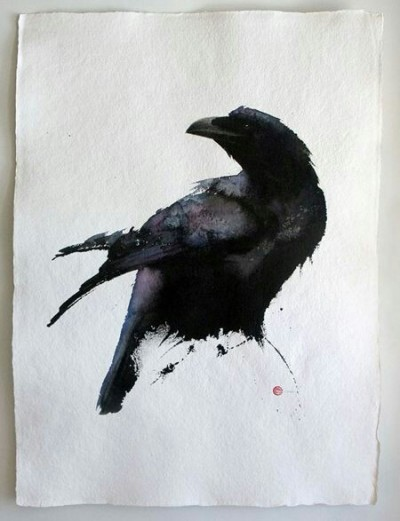 Fashion Digital Drawing   Crow   PENUP