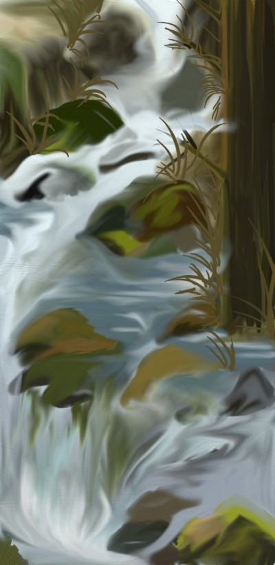 water closeup    Hanne   Digital Drawing   PENUP