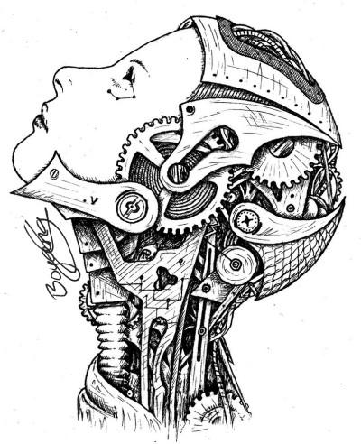 Robot system | Templejax303 | Digital Drawing | PENUP