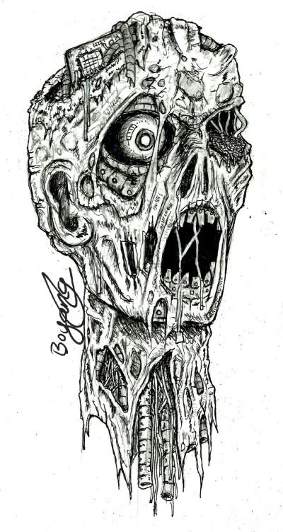 Robot Undead | Templejax303 | Digital Drawing | PENUP