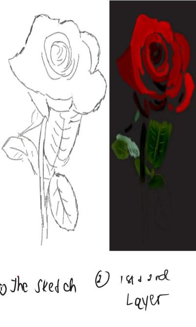 how to make a flower?   Choloaldon   Digital Drawing   PENUP