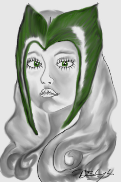 woman hero | Bluzie | Digital Drawing | PENUP