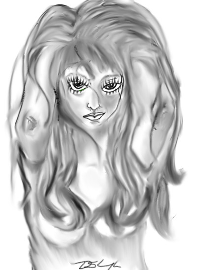 playing sexy | Bluzie | Digital Drawing | PENUP