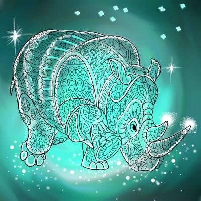 Rhino | LindyCoetzee | Digital Drawing | PENUP