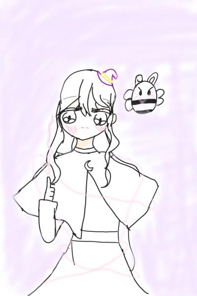 업그레이드..?마법의인화였나..?암튼 다 그렸슴다! | _Eunyedam_030 | Digital Drawing | PENUP