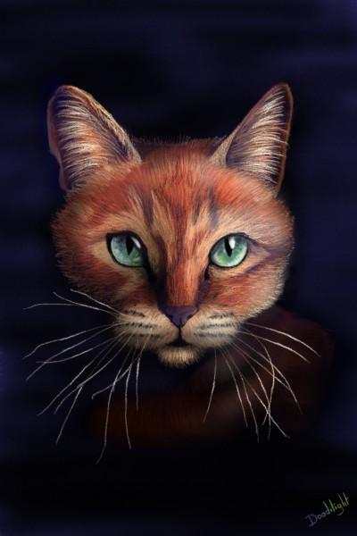 cat | Doodilight | Digital Drawing | PENUP