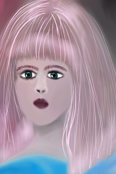 hair | valsoares | Digital Drawing | PENUP