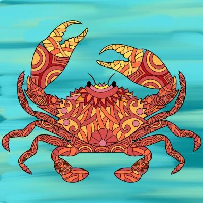 Crab | Tessie | Digital Drawing | PENUP