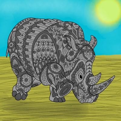 Coloring Digital Drawing | marah | PENUP