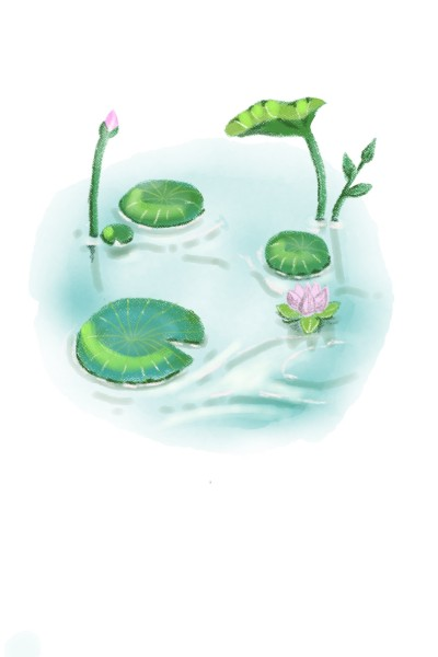 Lily Pads  | _Jules_ | Digital Drawing | PENUP