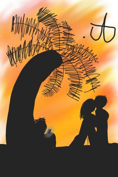 a beach | akikoUwU | Digital Drawing | PENUP