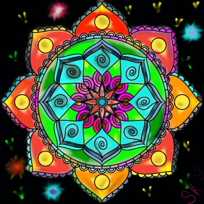 Coloring Digital Drawing | shellye | PENUP