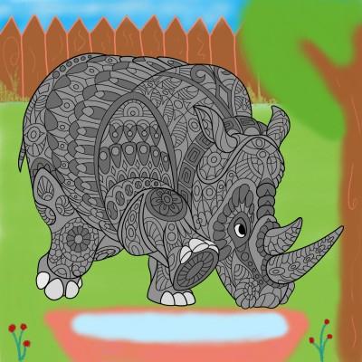 Coloring Digital Drawing | ILGM99 | PENUP