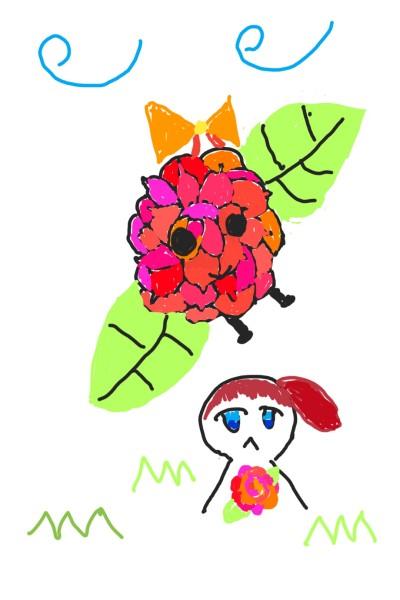 긂대 장미 의인화 | JACE | Digital Drawing | PENUP