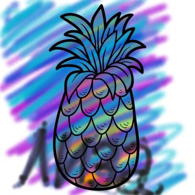 Coloring Digital Drawing   Liza   PENUP